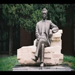 李竞雄先生铜像