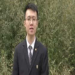 学生会主席候选人陈述——陈汉曦