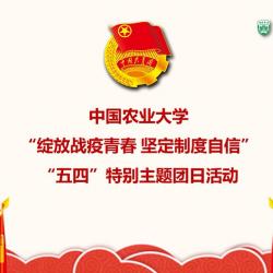 """绽放战疫青春 坚定制度自信 """"五四""""特别主题团日活动"""