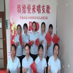 西区幼儿园团支部献礼中国共产党建党100周年